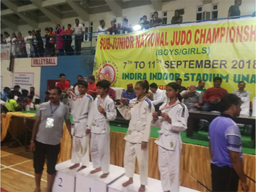 Sub-Junior National Judo Championships 2018-19, Una
