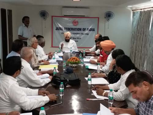 JFI Executive Committee Meeting, Delhi