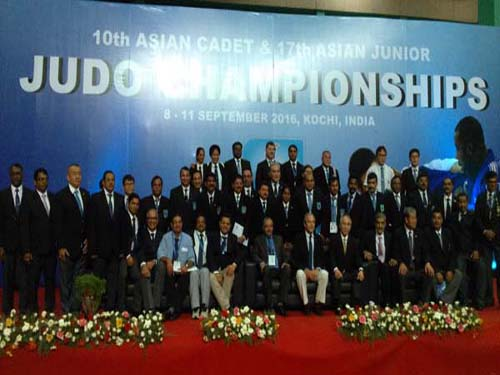 10th Asian Cadet & 17th Asian Junior Judo Championships 2016, Kochi.