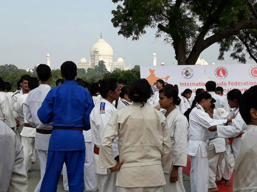 IJF Judo Education Journey - Agra