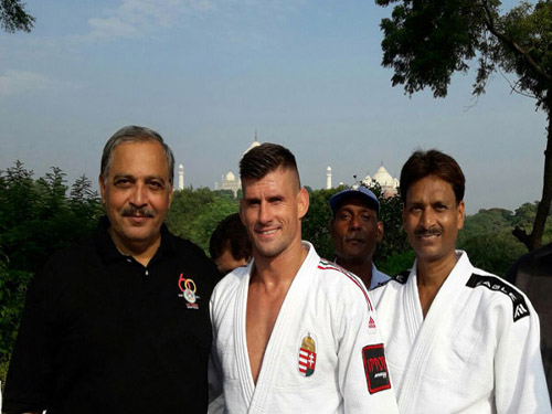 President, JFI with Olympic Champion Mr. Panch and Coach Mr. Deepak