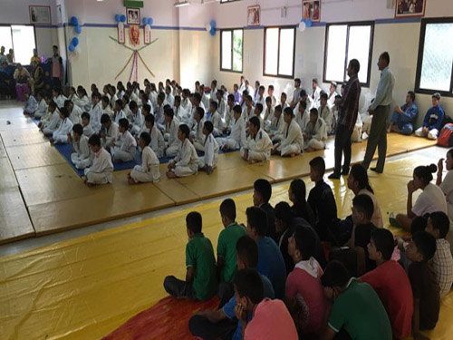 IJF Judo Education program at Dev Sanskriti Vishwavidhyalaya, Haridwar