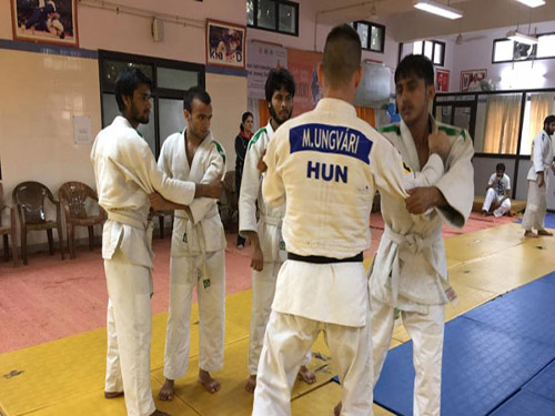 Judo Education Class by Mr. Miklos, IJF Expert at Dehradun