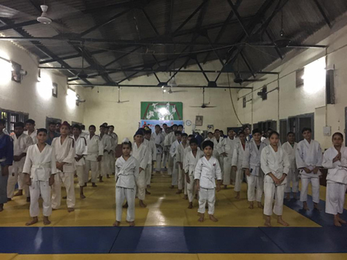 Jalandhar Judokas during IJF Education Journey