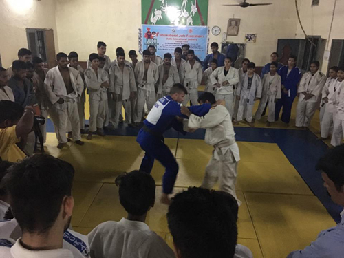 Education Class by Mr. Miklos, IJF Expert at Jalandhar