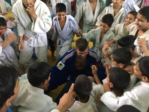 Judo Education Class by IJF Expert Mr. Miklos