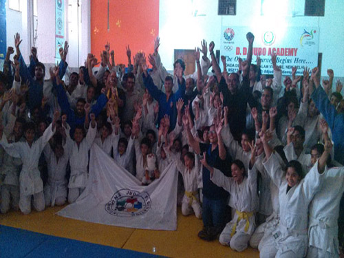 End of the IJF Judo Educational Journey through India