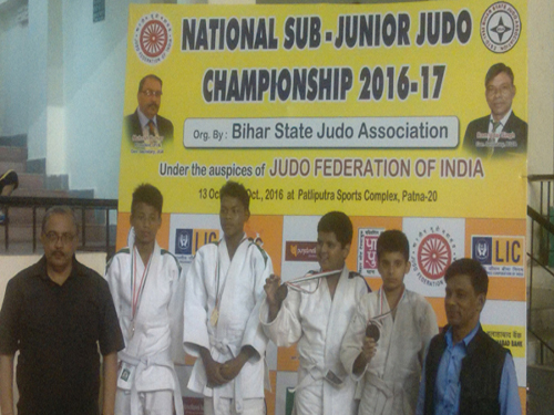 Medal Ceremony of Sub-Junior National Patna