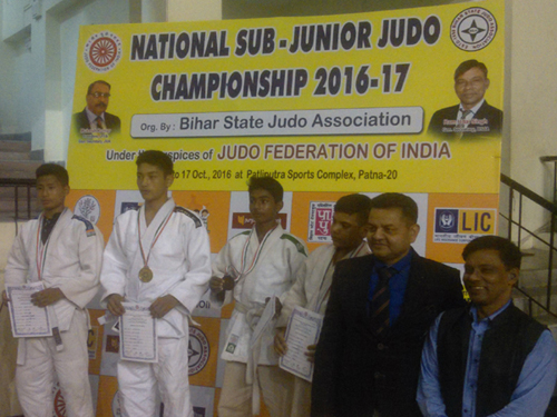 Medal Ceremony of Sub-Junior National, Patna