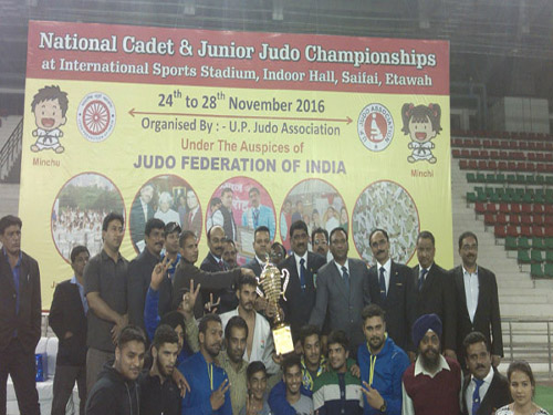 Winner of Juniors - Punjab