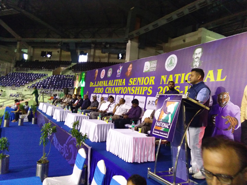 Opening Ceremony of Senior National 2016-17, Chennai