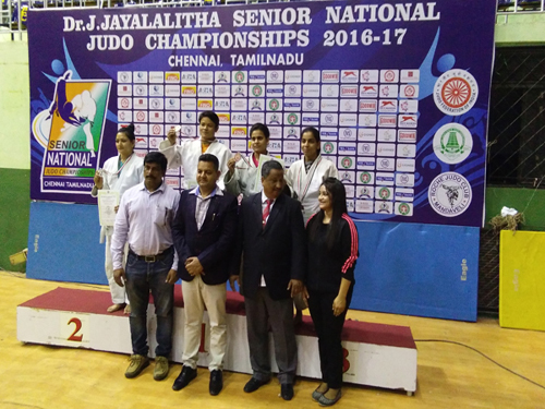 Senior National Judo Championships 2016-17,Chennai