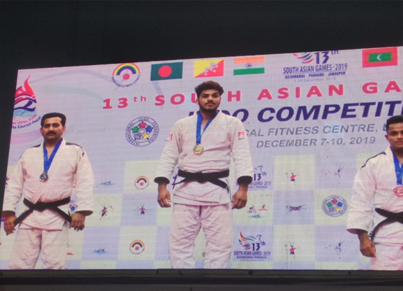 Indian Judo Team for 13th SAF Games 2019 Nepal