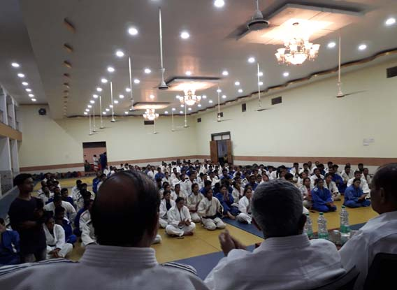 Black Belt camp and exam Bhilai