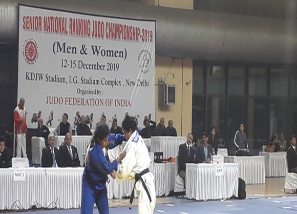 SENIOR NATIONAL RANKING JUDO CHAMPIONSHIPS 2019